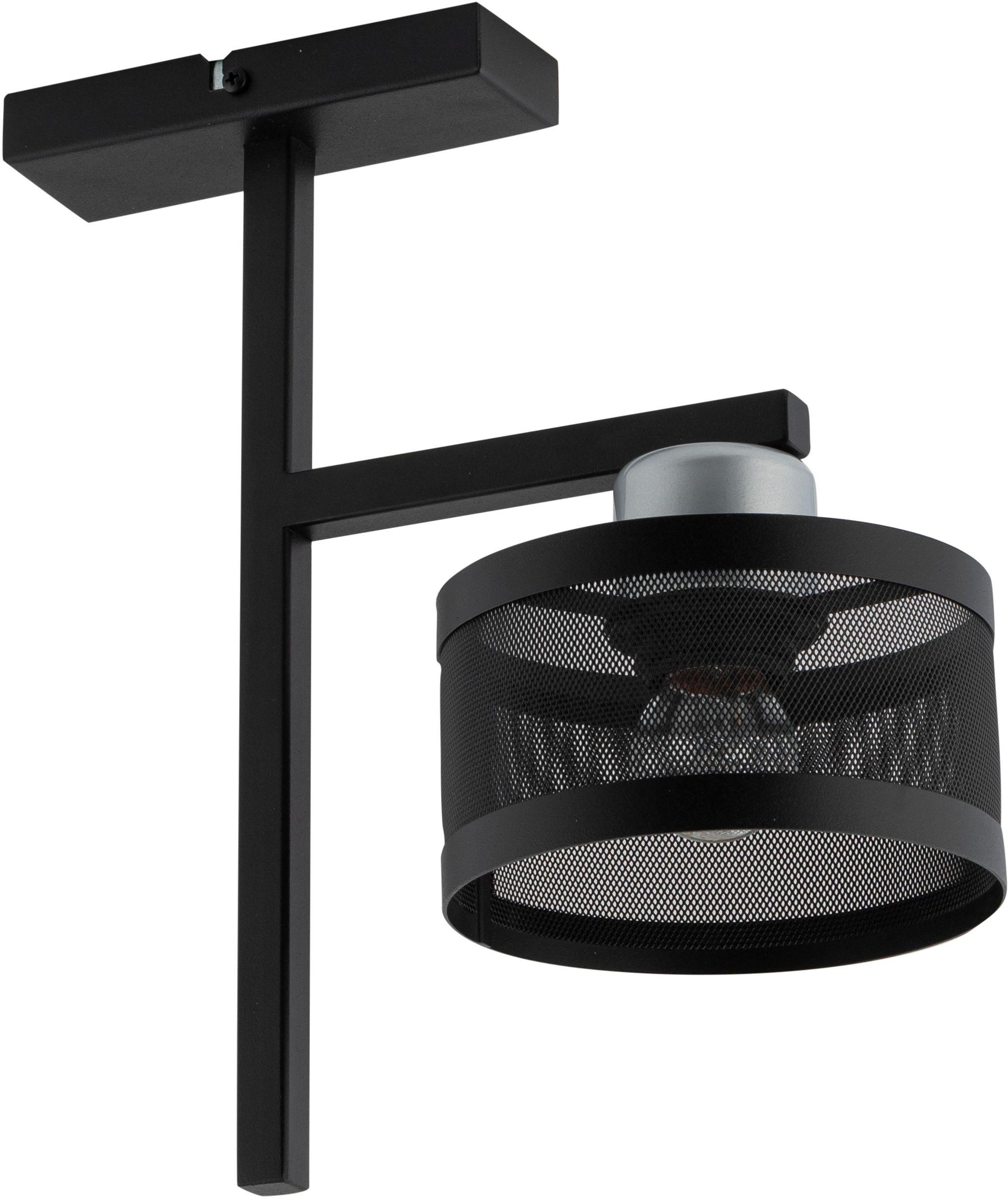 Lampa sufitowa metalowa Off 1 punktowa czarno srebrna 32142 - Sigma Do -17% rabatu w koszyku i darmowa dostawa od 299zł !