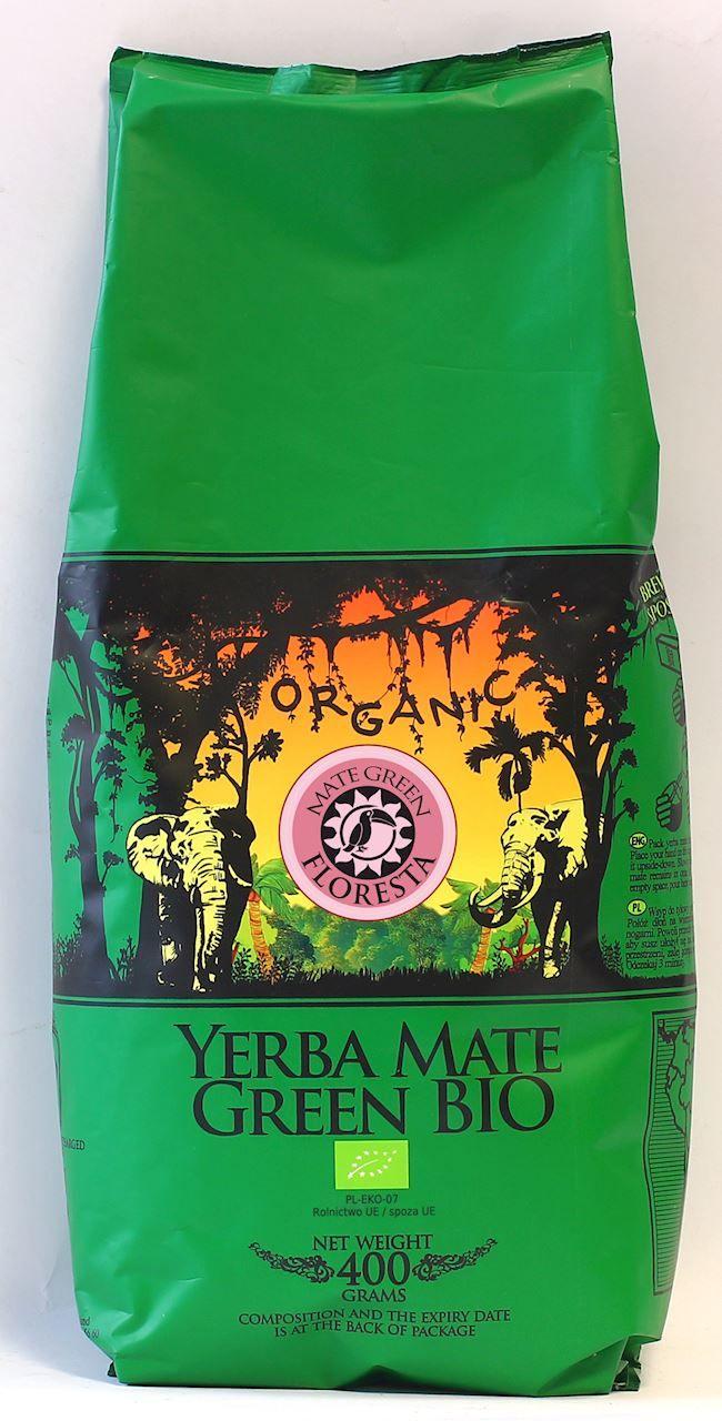 Yerba mate floresta bio 400 g - organic mate green