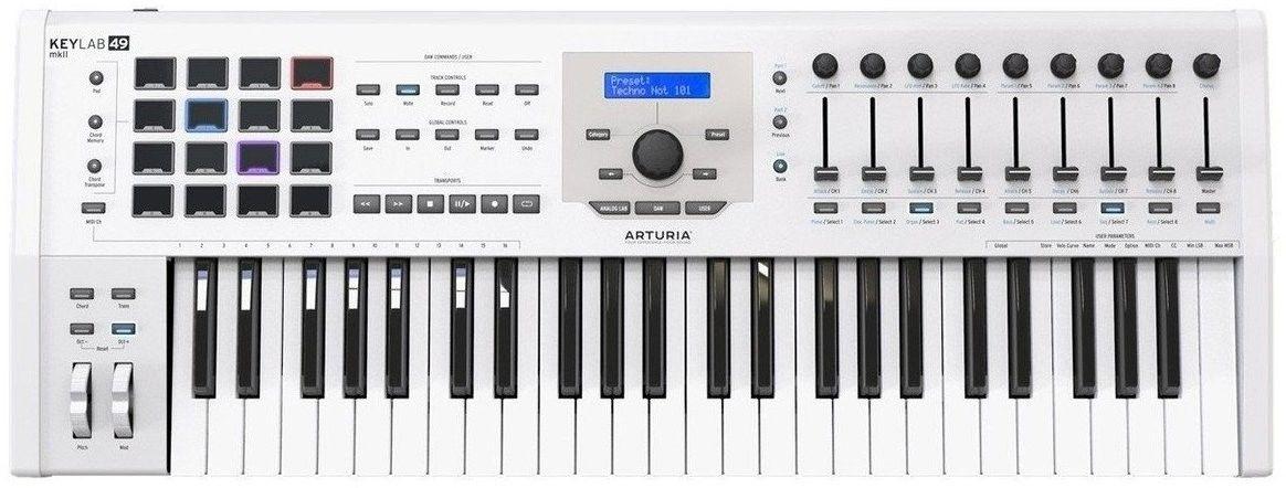 Arturia KeyLab 49 mk2 White klawiatura sterująca