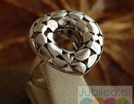 Wiano - srebrny pierścień