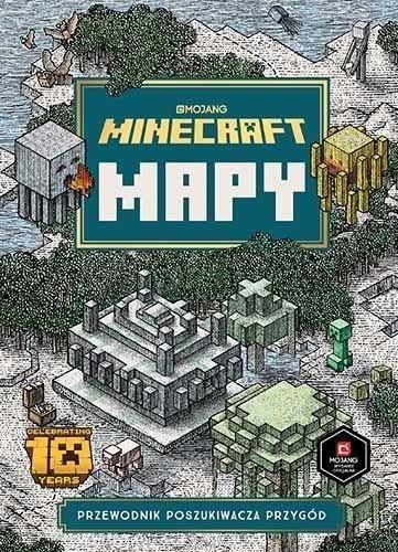 Minecraft Mapy ZAKŁADKA DO KSIĄŻEK GRATIS DO KAŻDEGO ZAMÓWIENIA