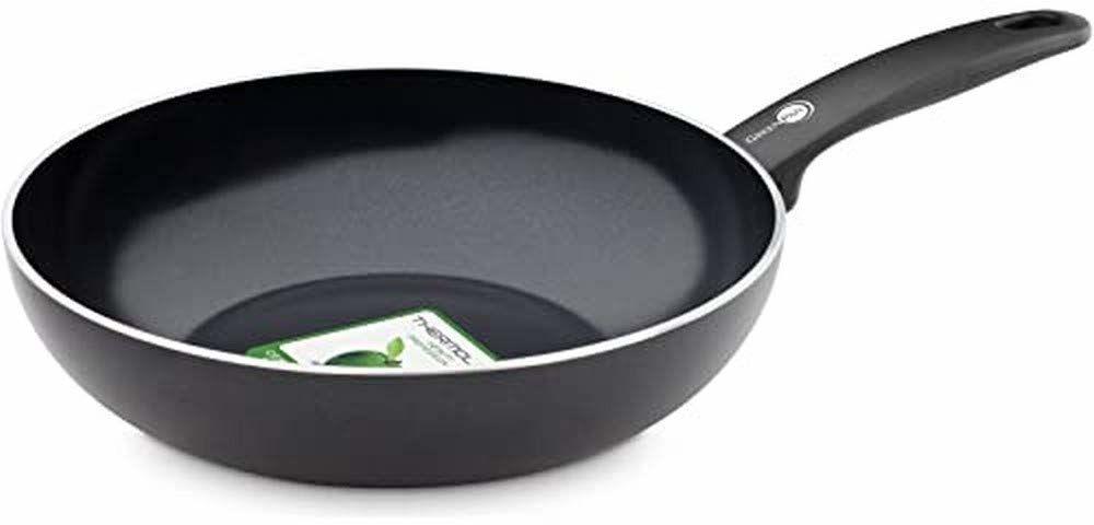 GreenPan Cambridge cw002215-002 Wok 28 cm aluminium czarny