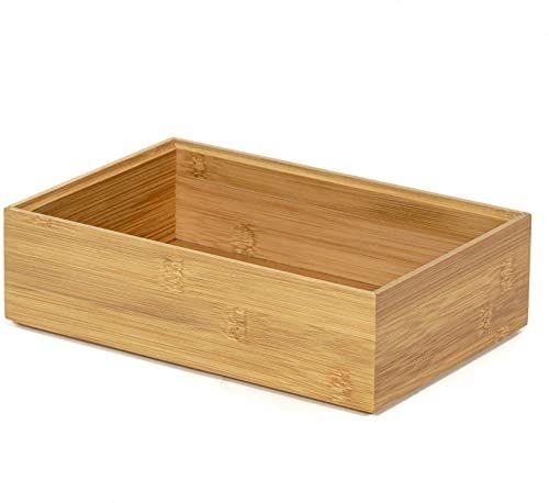 Compactor Pudełko bambusowe Osaka, prostokątne, ciemne drewno, 2,5 x 15 x 6,5 cm, RAN6964