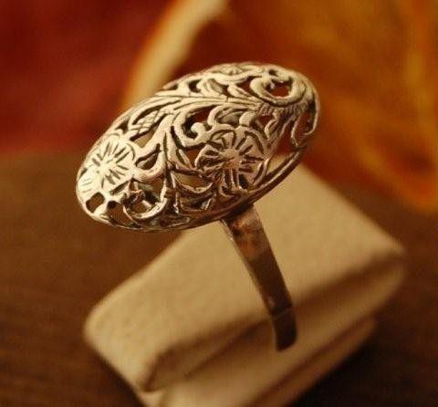 Santoro - srebrny pierścionek ze srebra