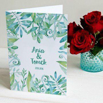 Leśne gratulacje - kartka z życzeniami