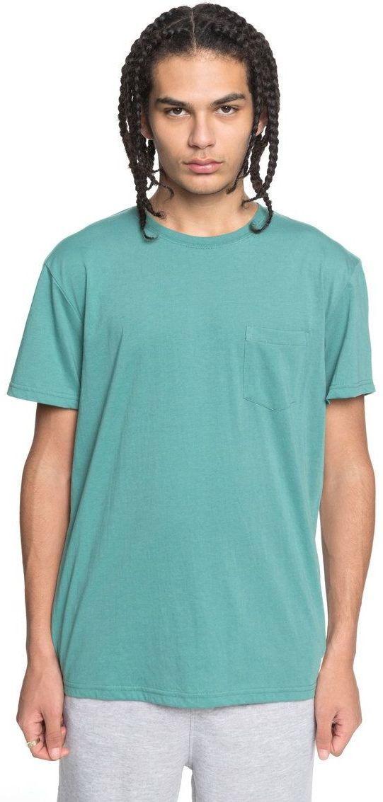 t-shirt męski DC BASIC POCKET 2 Deep Sea - GMW0