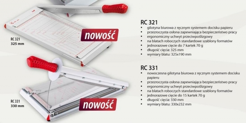 Gilotyna RC Systems 331