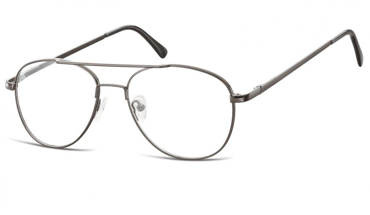 Okulary oprawki dziecięce zerówki Pilotki MK3-47A garfitowe