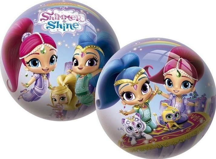 Gumowa Piłka Shimmer i Shine dla Dzieci