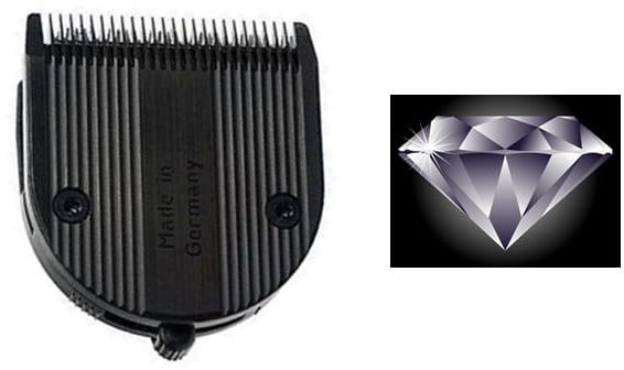 Moser KM 1854-7022 dlc nóż do 1871 1884 diamond black
