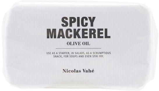 Nicolas Vahe SPICY Filet z Makreli w Oliwie z Oliwek z Przyprawami