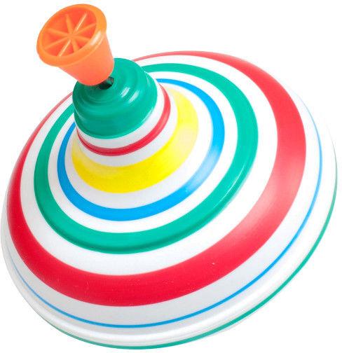 Kolorowy Wirujący Bąk Bączek Polskiej Produkcji Zabawka dla Dzieci Grający