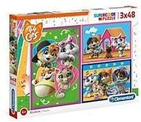 Puzzle dla dzieci Clementoni 3x48 - Baby Shark