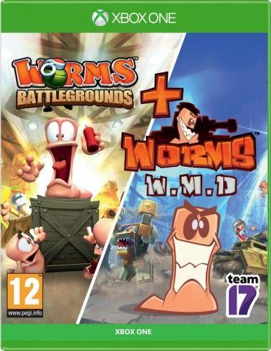 Worms Battlegrounds + WMD XOne Używana