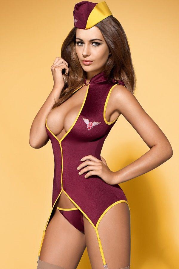 Stewardess suit kostium