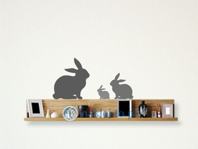 naklejka królik 4 naklejka