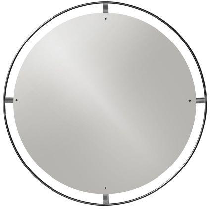 Menu NIMBUS Okrągłe Lustro Ścienne 60 cm Rama Mosiądz Brązowy