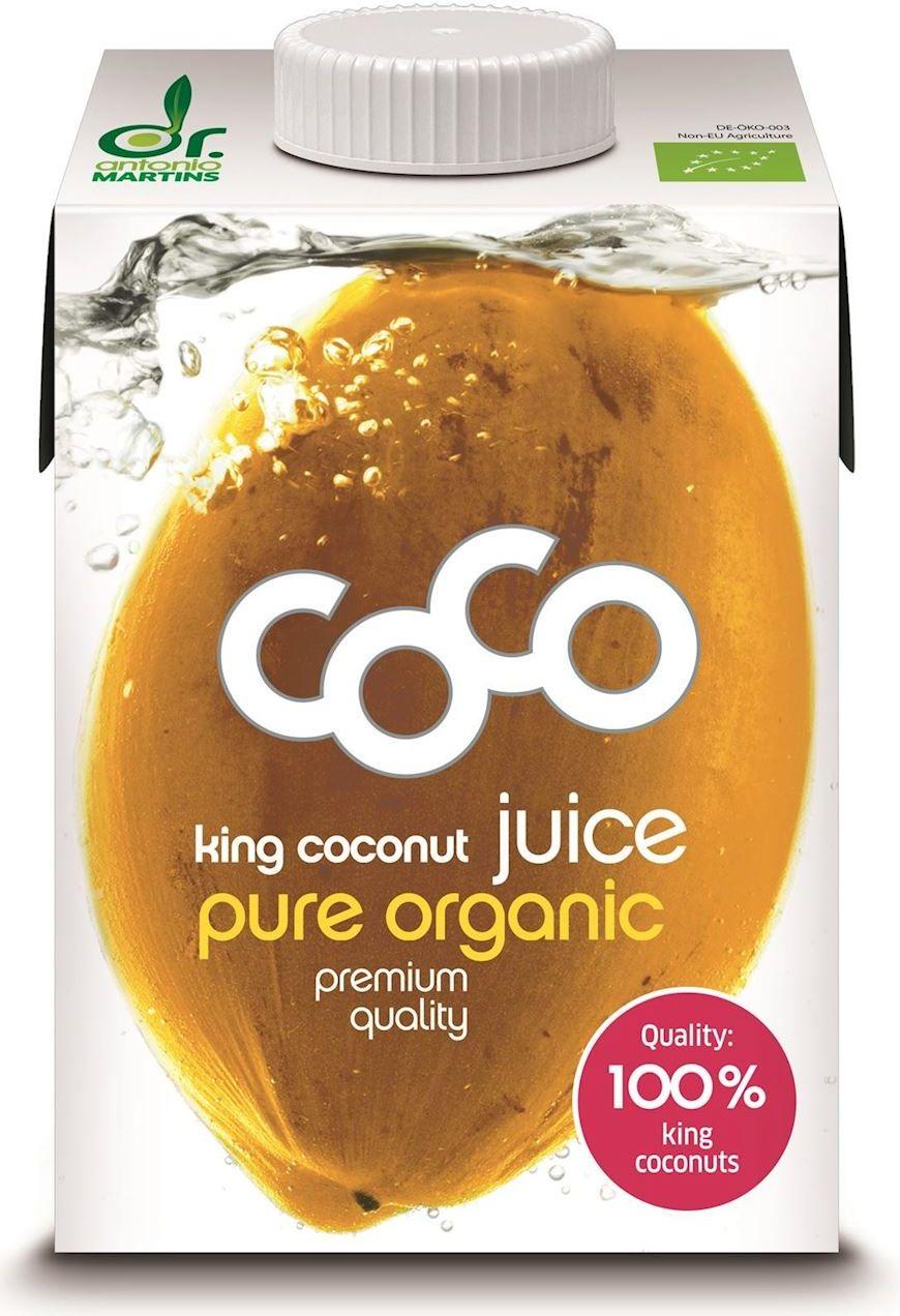 Woda kokosowa king bio 500 ml - coco dr martins