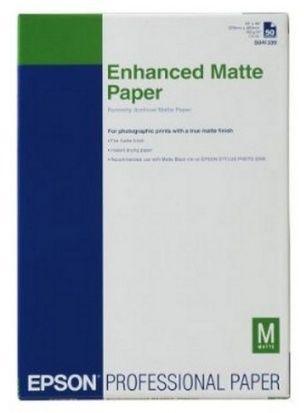 Papier EPSON Enhanced Matte Paper 192 g/m2 - DIN A4 / 250 arkuszy (C13S041718)