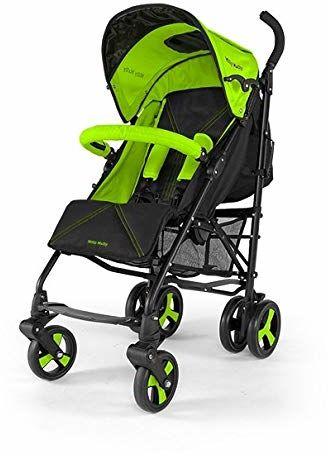 Wózek spacerowy składany Milly Mally Royal zielony