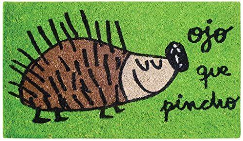 LAROOM 13555  wycieraczka oko, szpikulec, zielona