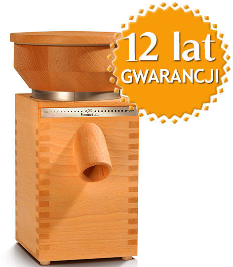 Domowy młynek do mielenia zboża na mąkę Fidibus Classic + DOSTAWA GRATIS