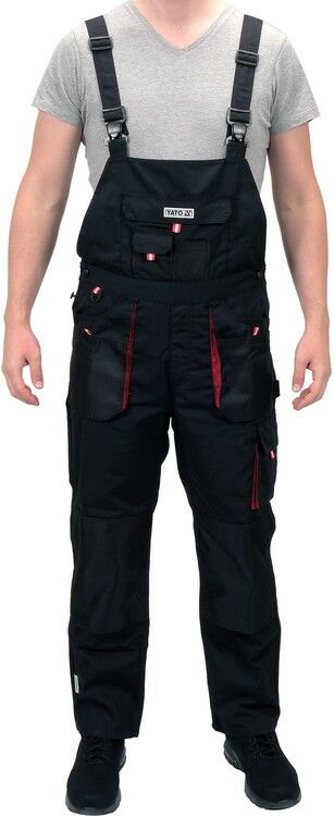 Spodnie robocze ogrodniczki rozmiar xxl Yato YT-8034 - ZYSKAJ RABAT 30 ZŁ