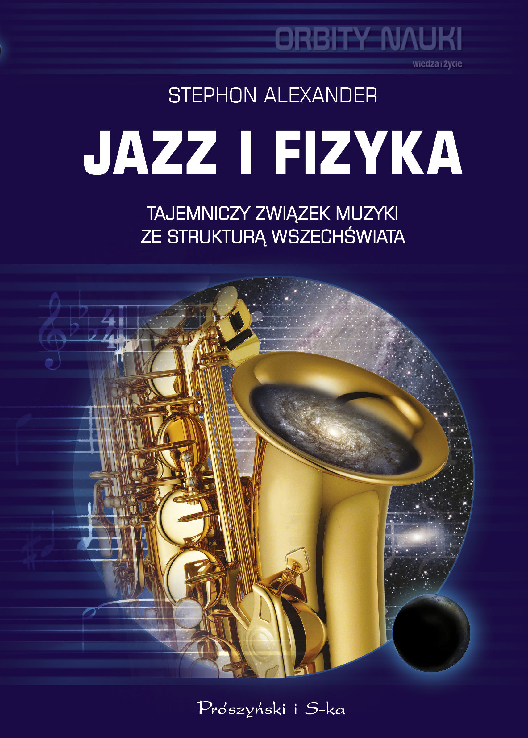 Jazz i fizyka - Alexander Stephon - ebook