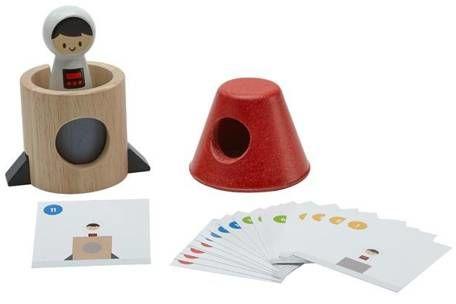 Układanka Rakieta kosmiczna - Plan toys
