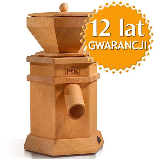 Domowy młynek do mielenia zboża na mąkę Fidibus PK 1 + DOSTAWA GRATIS