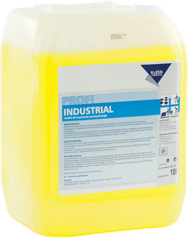 Kleen Industrial 10 L - środek do czyszczenia przemysłowego