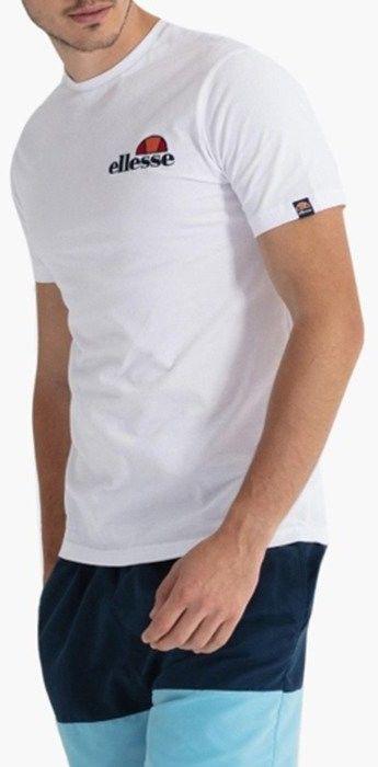 Koszulka męska Ellesse Voodoo SHB06835 WHITE