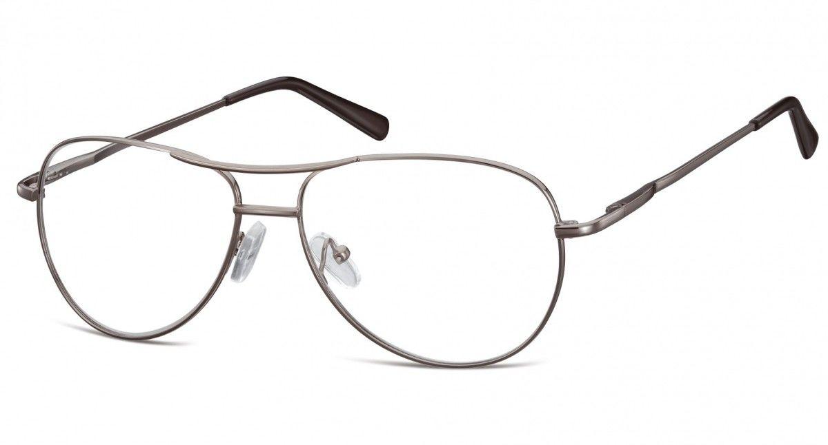 Okulary oprawki dziecięce zerówki Pilotki MK1-49A garfitowe