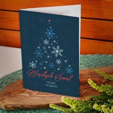 Choinka - kartka z życzeniami