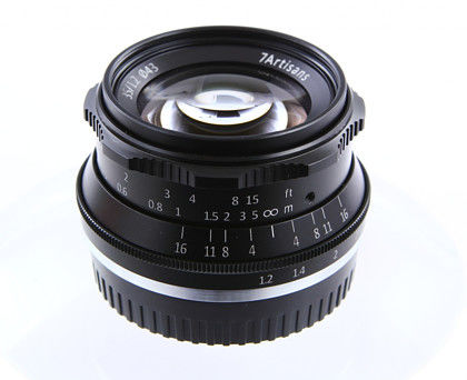 Obiektyw 7Artisans 35mm f/1,2 - mocowanie mikro 4/3 (olympus/panasonic) czarny