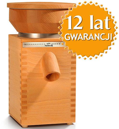 Domowy młynek do mielenia zboża na mąkę Fidibus XL + DOSTAWA GRATIS