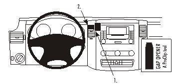 ProClip do Mercedes Benz Sprinter 07-18