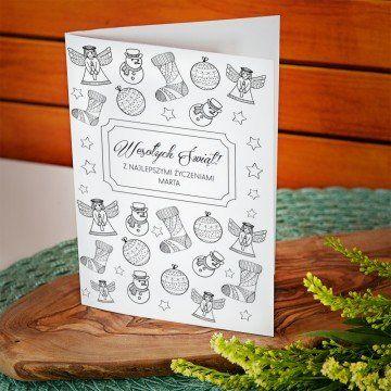 Najlepsze życzenia świąteczne - kartka z życzeniami