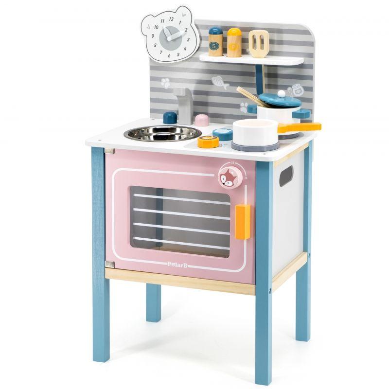 Kuchnia drewniana dla dzieci z akcesoriami Viga Toys LK