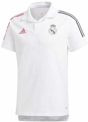 Real Madrid C.F. Oficjalna koszulka polo uniseks biały biały S
