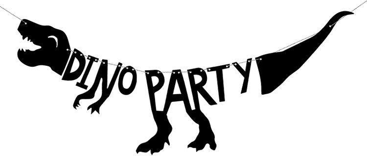 Baner urodzinowy Dino Party 90cm 1szt. GRL40
