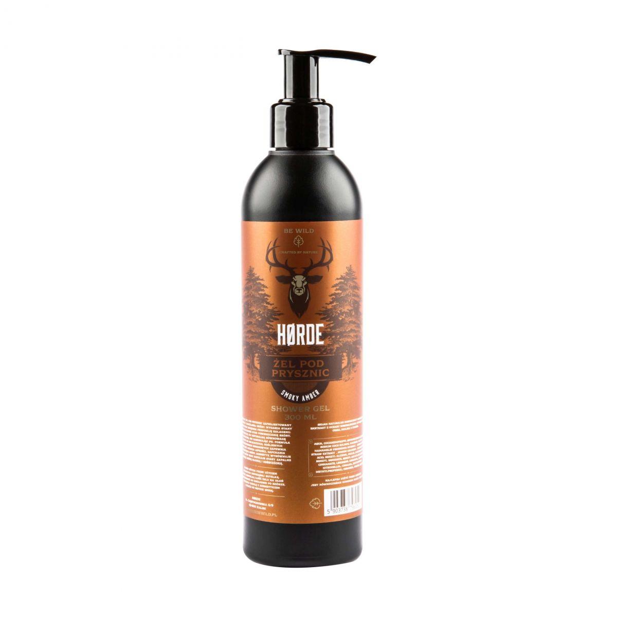 Żel pod prysznic Smoky Amber -300ml - Horde