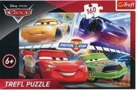 Puzzle Trefl 160 - Autka - Zwycięski wyścig, Cars - Winning the race
