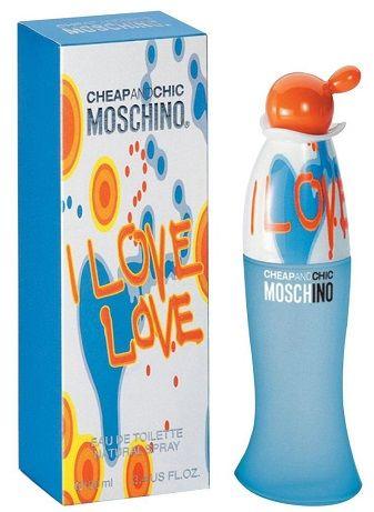 Moschino I Love Love woda toaletowa - 100ml Do każdego zamówienia upominek gratis.
