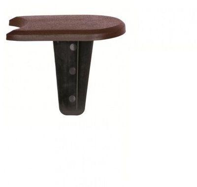Prosperplast Palisada ogrodowa brązowy, 382,7 cm