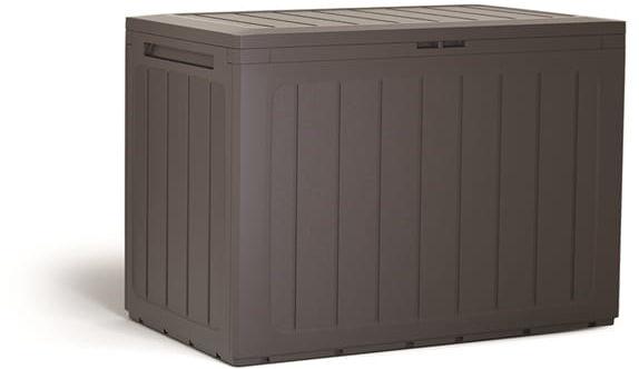 Skrzynia Ogrodowa WoodeBox 190l Brąz Prosperplast