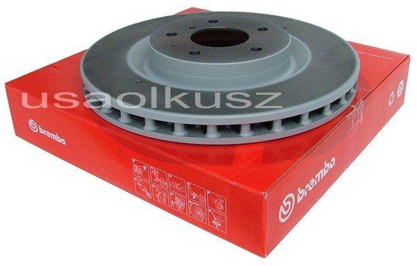 Przednia wentylowana tarcza hamulcowa Infiniti G35 2003-2004 Brembo system !!!