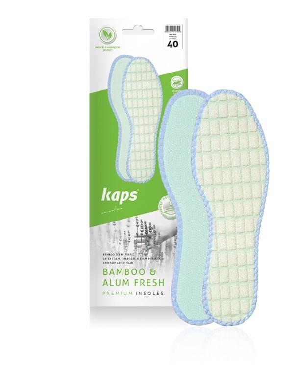 Wkładki do butów bambusowe. Bamboo & Alum Fresh