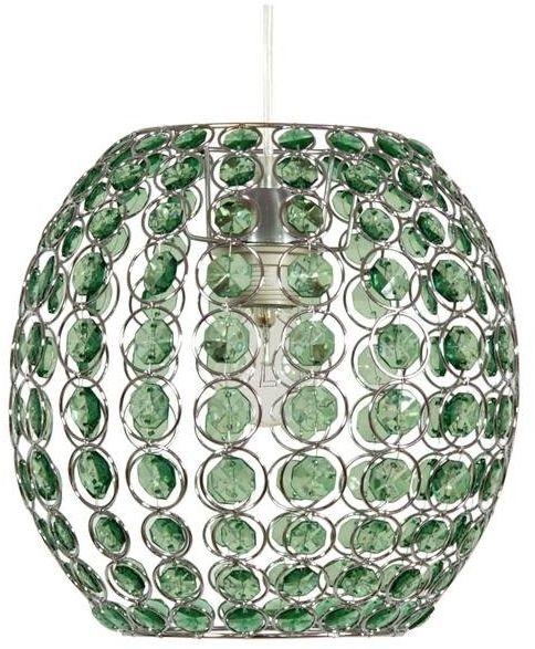 RICA LAMPA WISZĄCA 28 1X40W E27 ZIELONY + LINKA 85-10523
