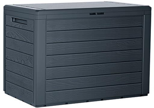 Skrzynia Ogrodowa WoodeBox 190l Antracyt Prosperplast